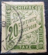 Colonies Françaises                TAXE 21                OBLITERE - Postage Due