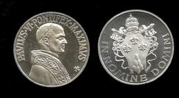 MEDAILLE DU VATICAN . PAUL VI . - Royal/Of Nobility