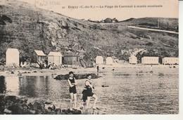 Erquy-La Plage De Carroual à Marée Montante. - Erquy