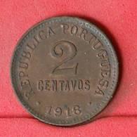 PORTUGAL 2 CENTAVO 1918 -     568 - (Nº22604) - Portugal