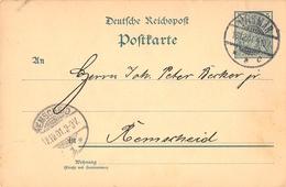 "DR, P 50 II, WZ. """"1 S"""", WISMAR 16.12.01, Ganzsache, Postal Stationery - Enteros Postales"