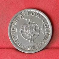 MOZAMBIQUE 2,5 ESCUDOS 1952 -    KM# 78 - (Nº22611) - Portugal