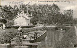 (67) CPA  La Ferte Milon  Ecluse Du Canal De L' Ourcq  (Bon Etat  ) - Autres Communes