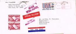 28643. Carta Aerea NEW YORK (NY) 1974. SPECIAL DELIVERY, Express - United States