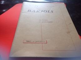 Barjols Ses Particularité Son Histoire Sa Description Cahier 1 Son Histoire 70 Page édité Par Le Syndicat D Initiative D - Provence - Alpes-du-Sud
