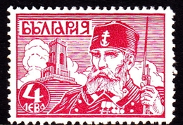 Bulgaria SG 337 1934 Shipka Pass Memorial 4l Red, Mint Hinged - 1909-45 Kingdom