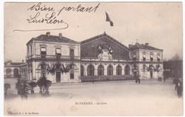 CPA 44 St-Nazaire - La Gare (circulé 1903, Adressée à Mr Lino Joseph, Chef De Gare à Breteuil Sur Iton) - Saint Nazaire