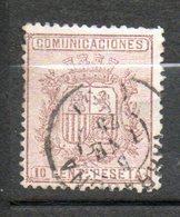 ESPAGNE Armoirie 1874 N°151 - Oblitérés
