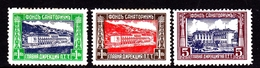 Bulgaria SG 346-348 1935 Sunday Delivery Stamps, Mint Hinged - 1909-45 Kingdom