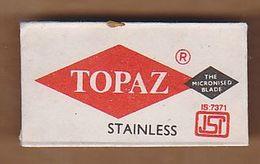 AC -  TOPAZ STAINLESS SHAVING RAZOR BLADE IN WRAPPER - Razor Blades