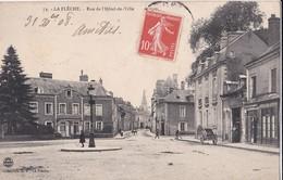 Carte 1908 LA FLECHE / RUE DE L'HOTEL DE VILLE - La Fleche