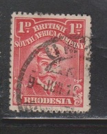 RHODESIA Scott # 120 Used - KGV - Great Britain (former Colonies & Protectorates)