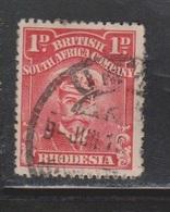 RHODESIA Scott # 120 Used - KGV - Grande-Bretagne (ex-colonies & Protectorats)