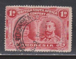RHODESIA Scott # 102 Used - KGV - Great Britain (former Colonies & Protectorates)