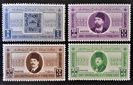 ROYAUME - 80 ANS DU PREMIER TIMBRE EGYPTIEN 1946 - NEUFS ** - YT 238/41 - MI 248/91 - Egypt