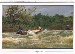 GUYANE  FRANCAISE  PASSAGE  DE  SAUT   CPM   TBE  1W904 - Andere
