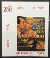 MONACO N° 2957 Grace Kelly Cary Grant Cinéma Non Dentelé Imperf, TB **, RARE Et Cdf ! - Monaco