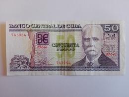 50 Pesos Nacional (CUP) Banknote Aus Kuba Von 2015 (sehr Schön) - Cuba