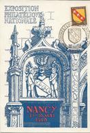 Fdc France, N°756  Yt, Exposition Philatélique Nationale Nancy 1948, Lorraine - FDC