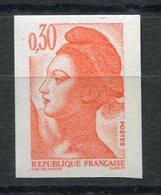 RC 8736 FRANCE 2182 - 30c ORANGE LIBERTÉ DE GANDON NON DENTELÉ NEUF ** - France