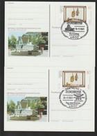 T 319) BRD PSo 30 Mit 4 SSt Dortmund 1993: Messe, Umweltschutz, Bier Hopfen Malz - Beers