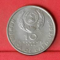CAPE VERDE 10 ESCUDOS 1982 -    KM# 19 - (Nº22646) - Cape Verde