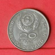 CAPE VERDE 20 ESCUDOS 1982 -    KM# 20 - (Nº22647) - Cap Vert
