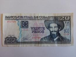 20 Pesos Nacional (CUP) Banknote Aus Kuba Von 2015 (sehr Schön) - Cuba