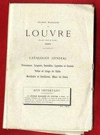 CATALOGUE  GRANDS MAGASINS DU LOUVRE PARIS  -  LINGERIE DENTELLES CORSETS ETC ...   -  143  PAGES - Literature