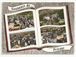 36 Prissac, Multivues Aériennes. Carte Inédite (GF263) L300 - Other Municipalities