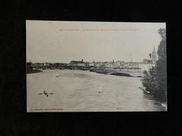 31 - RARE - TOULOUSE - LA GARONNE ET LES QUAIS VUE DU PONT SAINT MICHEL - R15041 - Toulouse