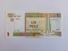 1 Peso Convertible (CUC) Banknote Aus Kuba Von 2017 (fast Kassenfrisch) - Cuba