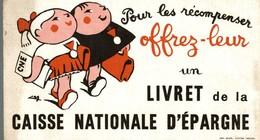 BUVARD LIVRET DE LA CAISSE NATIONALE D'EPARGNE - Bank & Insurance