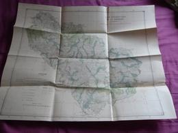 Carte , Camp D'instruction De La Courtine   (c50) - Karten