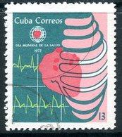 MK140 CUBA 1972 1759 World Health Day - Medicine
