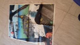 Supplement Poster Au Magazine Spirou 1725 Format Deplie 58x43 Cm  Le Clemenceau - Spirou Magazine