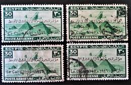 ROYAUME - POSTE AERIENNE SURCHARGE 1946 - OBLITERES - YT PA 28A - MI 293 - Egypt