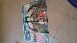 Supplement Poster Au Magazine Spirou 1695  Format Deplie 58x43 Cm  Le Mirage Vb - Spirou Magazine