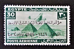 ROYAUME - POSTE AERIENNE SURCHARGE 1946 - NEUF ** - YT PA 28A - MI 293 - Egypt