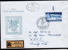 """Österreich 1958:  REKO - ET/ FDC """"Tag Der Briefmarke"""" (s.Foto/Scan) - FDC"""