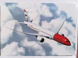 Airline Issue - NORWEGIAN.NO  Boeing 787-900 Dreamliner  - Postcard4 - 1946-....: Ere Moderne