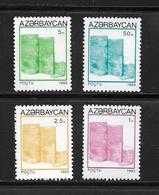 AZERBAIDJAN 1993 COURANTS  YVERT N°112/15  NEUF MNH** - Azerbaïdjan