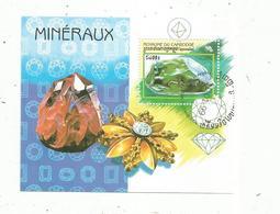 Bloc , MINERAUX , 1998 1999 , CAMBODGE , DIAMANT - Minéraux