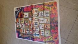 Supplement Poster Au Magazine Spirou Numero 1633   Format Deplie 48x74 Cm - Spirou Magazine