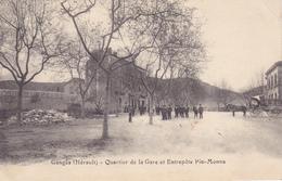 (49)   GANGES - Quartier De La Gare Et Entrepôts Pin-Monna - Ganges