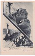 CPA PARIS-ORLEANS à Sa Création - Mécanicien Sur Locomotive Moderne - Matériel