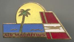 Airplane / Airlines, Plane Flug, Aviation - AIR MAURITIUS, Vintage Pin, Badge, Abzeichen, Enamel - Airplanes