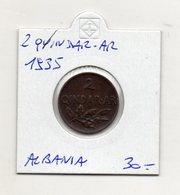 Albania - 1935 - 2 Qindar Ar - (FDC9729) - Albania