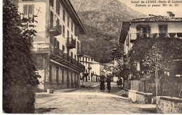 Torino - Saluti Da CERES (Valle Di Lanzo) - Entrata Del Paese - - Italia