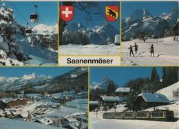 Saanenmöser - Saanerslochbahn, Panoramazug MOB - Photo: E. Gyger - BE Berne